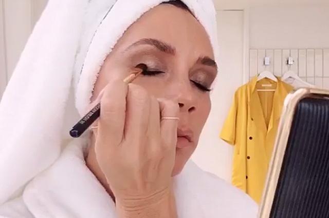 макияж виктории бекхэм