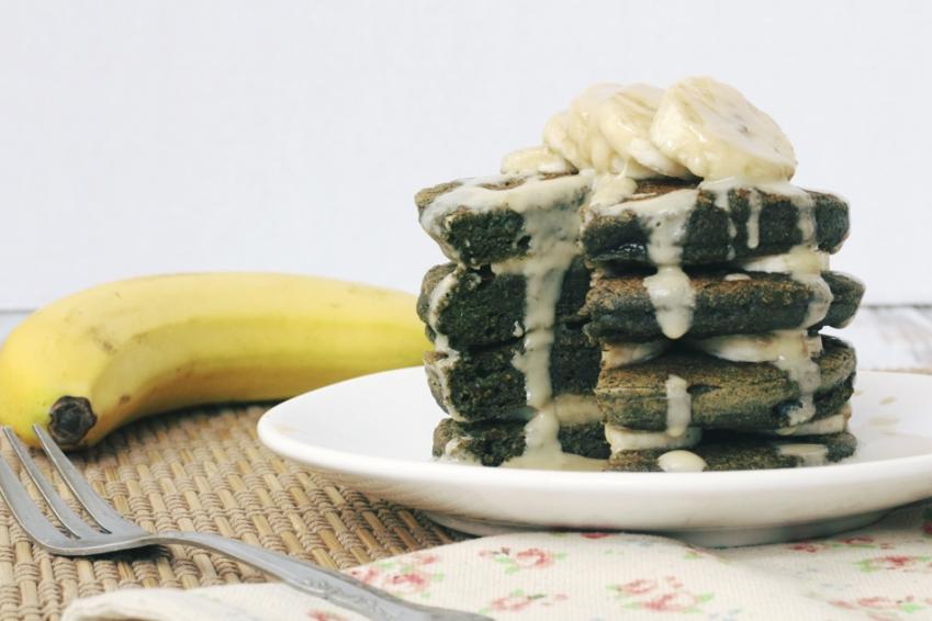 как приготовить шпинатные панкейки