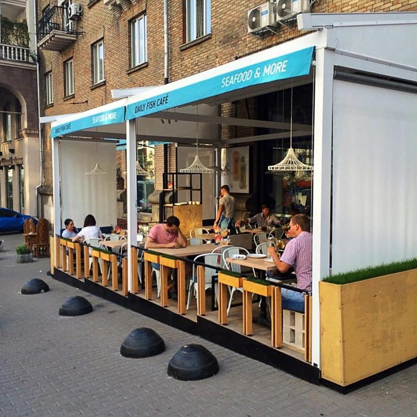 Daily Fish Cafe Терраса киев