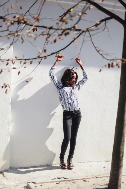 Дневник стиля: участница шоу Супермодель по-украински 3 сезон Эми Грейс
