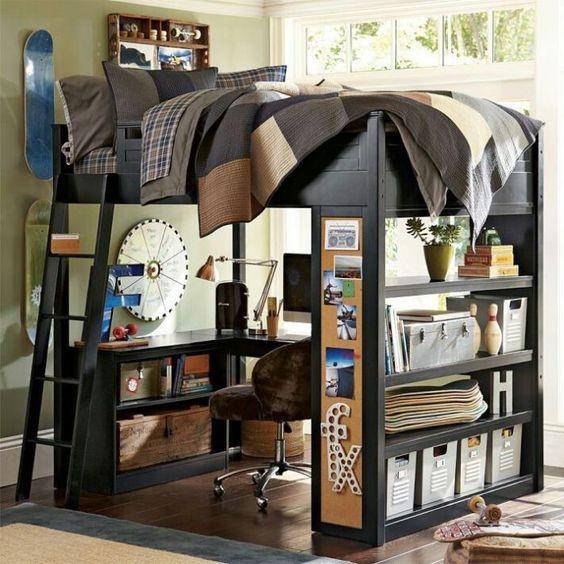 Комбинирование функций мебели может сохранить полезное пространство