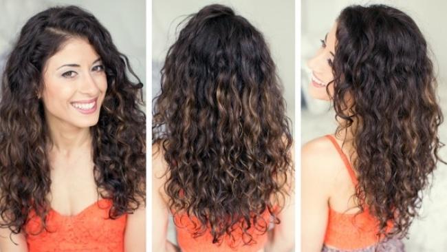 Как сделать волнистые волосы с помощью косичек 118
