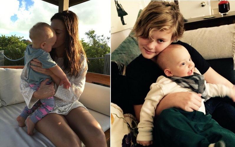 Лив Тайлер с детьми