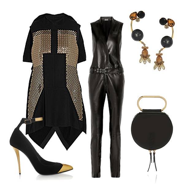 Как носить вещи с перфорацией осенью 2015