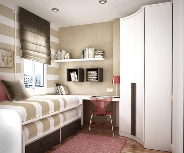 маленькая комната оформление