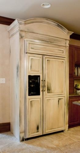 покраска холодильника