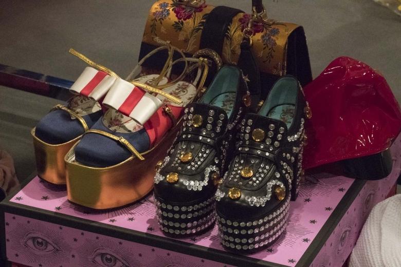 Обувь Gucci весна-лето 2017