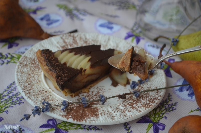 пирог с грушами рецепт фото