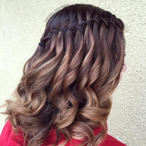 Сексуальное плетение кос