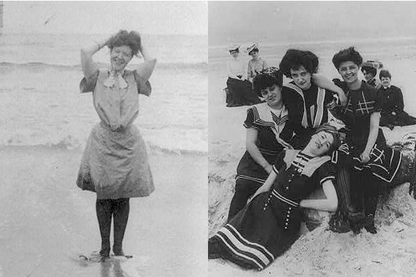 Как менялись женские купальники за 125 лет: видео - фото №1