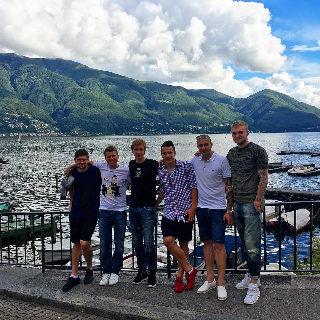 Футболисты сборной Украины в Инстаграме: как игроки готовятся к Евро-2016 - фото №2