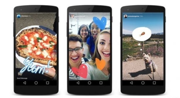 """""""Instagram Stories"""" в последнем обновлении Инстаграма: теперь можно создавать рассказы по аналогии Snapchat, которые исчезают через сутки - фото №2"""