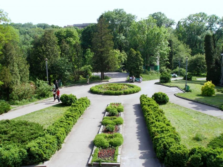 Ботанический сад НАУ биоресурсов и природопользования Украины