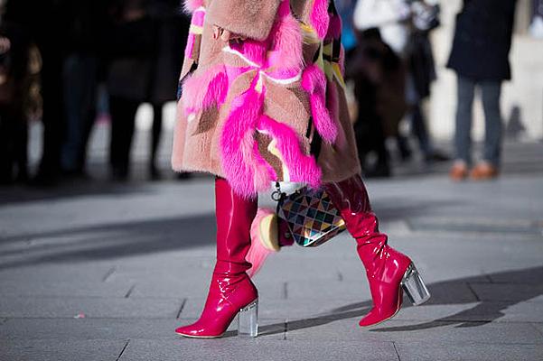 Street style: модная обувь на Неделе высокой моды в Париже