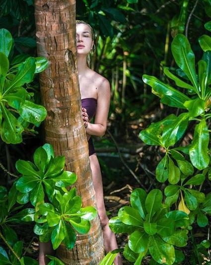 Беременная Полина Гагарина на Мальдивах интригует пляжными ФОТО - фото №1