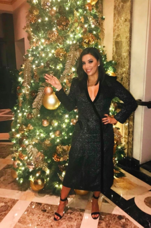 как звезды отметили рождество