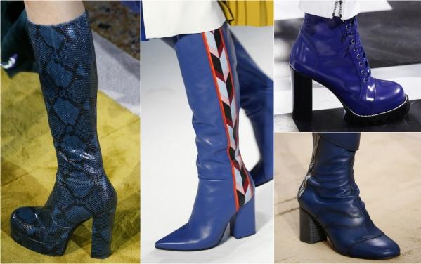 тренды в обуви 2016 осень