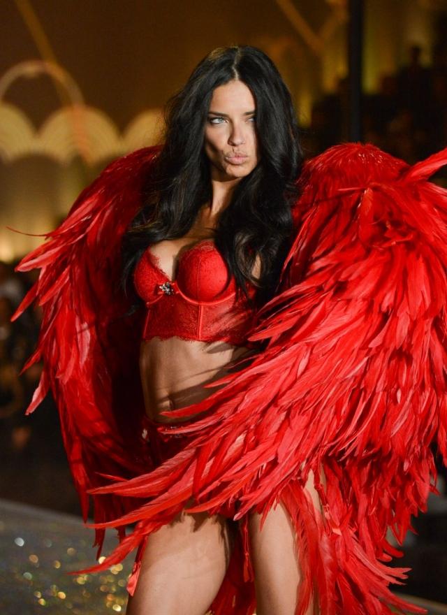 Самые красивые бразильянки Адриана Лима