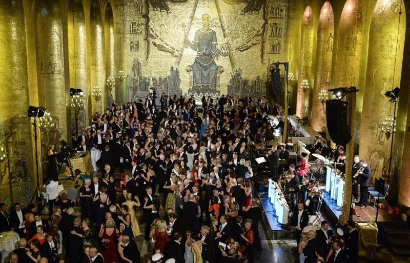 нобелевская премия танцевальный вечер