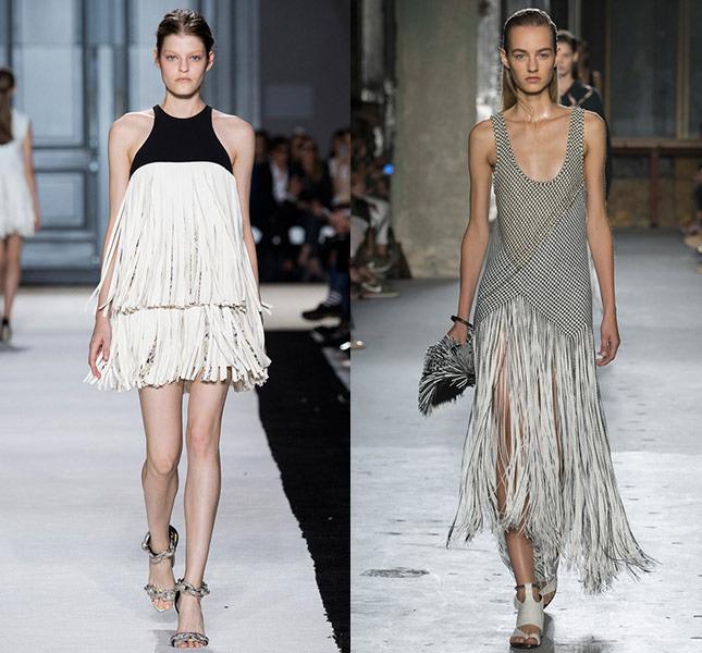 Как носить бахрому в сезоне весна-лето 2015
