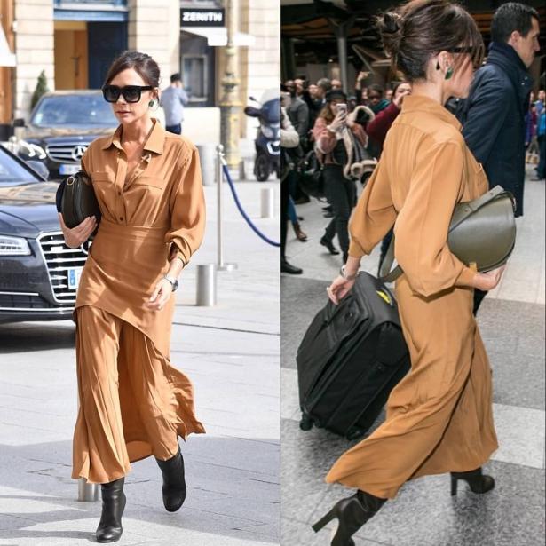 Безупречное сочетание: Виктория Бекхэм вызвала восторг модным образом в Париже (ФОТО) рекомендации