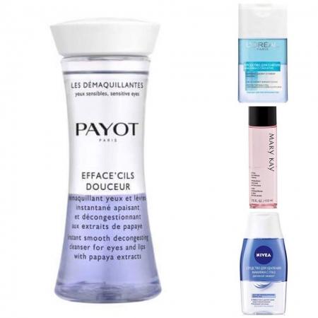 Двухфазные средства для снятия макияжа