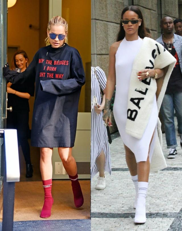 Как носить спортивную одежду Рита Ора и Рианна