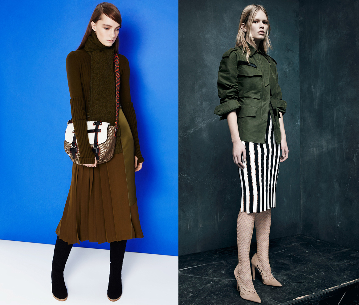 Как одеться в стиле милитари - фото №2