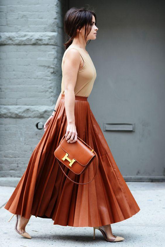 юбка плиссе