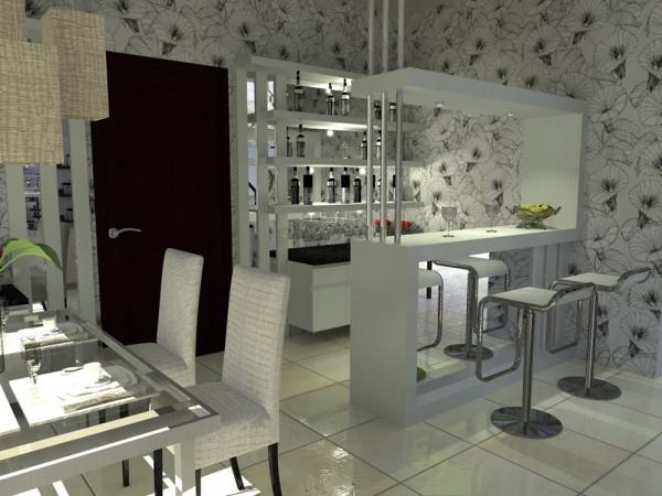 дизайн барных стоек для кухни фото