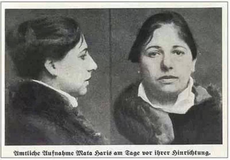 Мата Хари в тюрьме фото