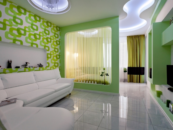 гостиная спальня дизайн фото