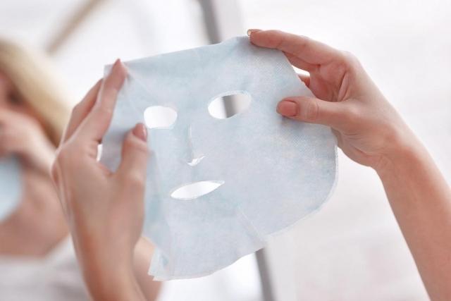 тканевая маска для лица фото