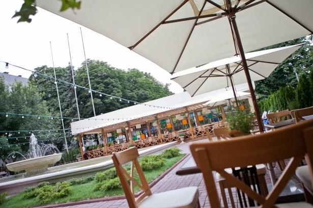 Топ-10 лучших ресторанов и кафе с летними террасами в Киеве - фото №5