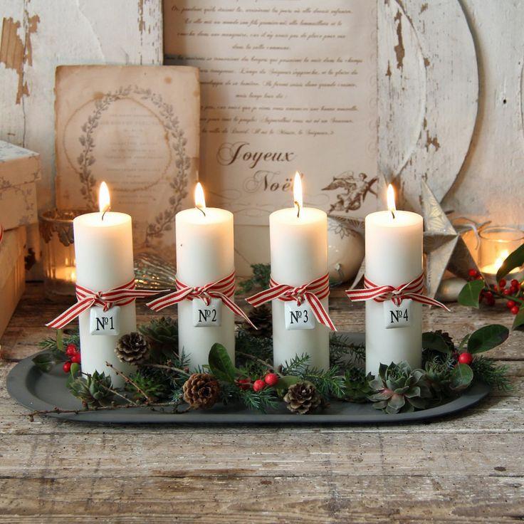 Как украсить стол к Новому году: идеи декора из натуральных материалов - фото №1