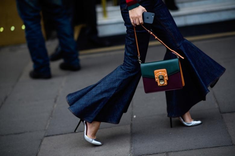 Модные брюки клеш 2017 фото с чем носить