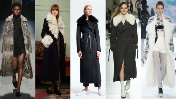 теплые пальто осень-зима