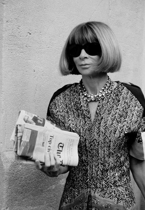 Другая Анна: как главная женщина современной моды выглядела в 90-е