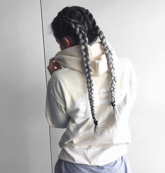 Этюд в серых тонах: окрашивание «громбре», как новый тренд из Инстаграма - фото №9