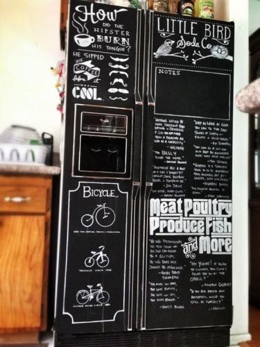 оригинальный ремонт старого холодильника