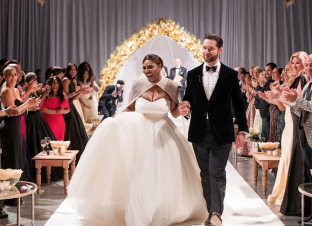 серена уильямс свадьба фото