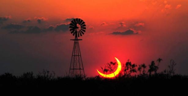 полное солнечное затмение когда и где