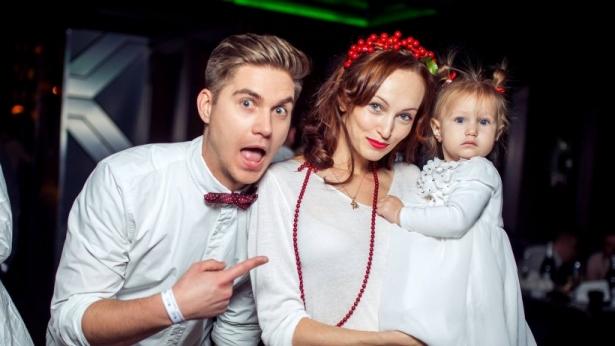 Володимир Остапчук с семьей