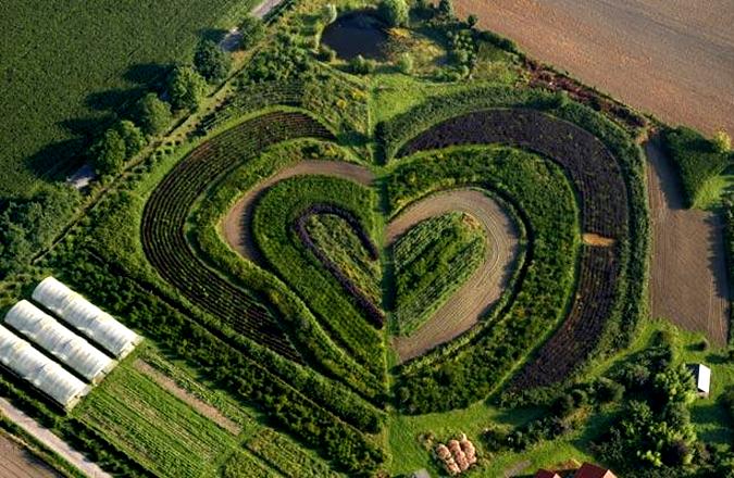 Романтикам на заметку: места на Земле в виде сердца - фото №16