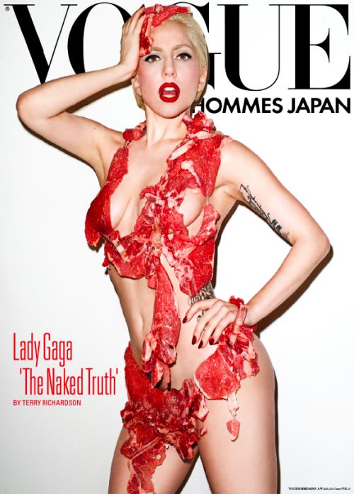 Чьи платья мы не сможем забыть: нога Анджелины Джоли, мясо Леди Гаги и прочий жемчуг - фото №5