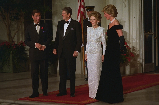принц чарльз и ненси рейган