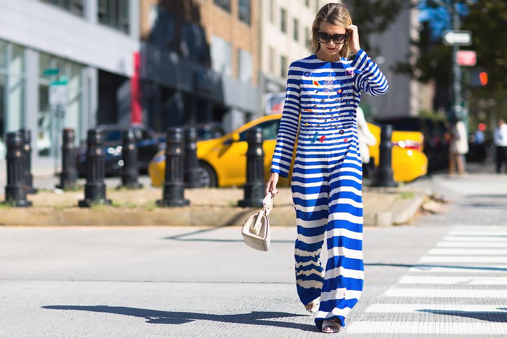 Неделя моды в Нью-Йорке фото