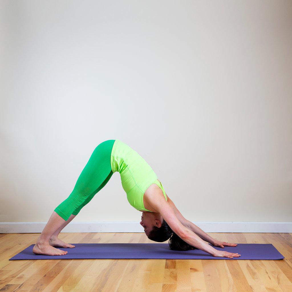 Как накачать пресс в йоге