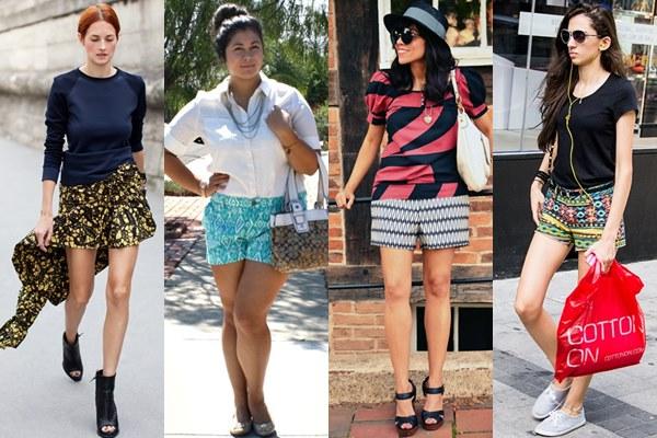 Оголяем ножки: модные шорты 2014 - фото №5