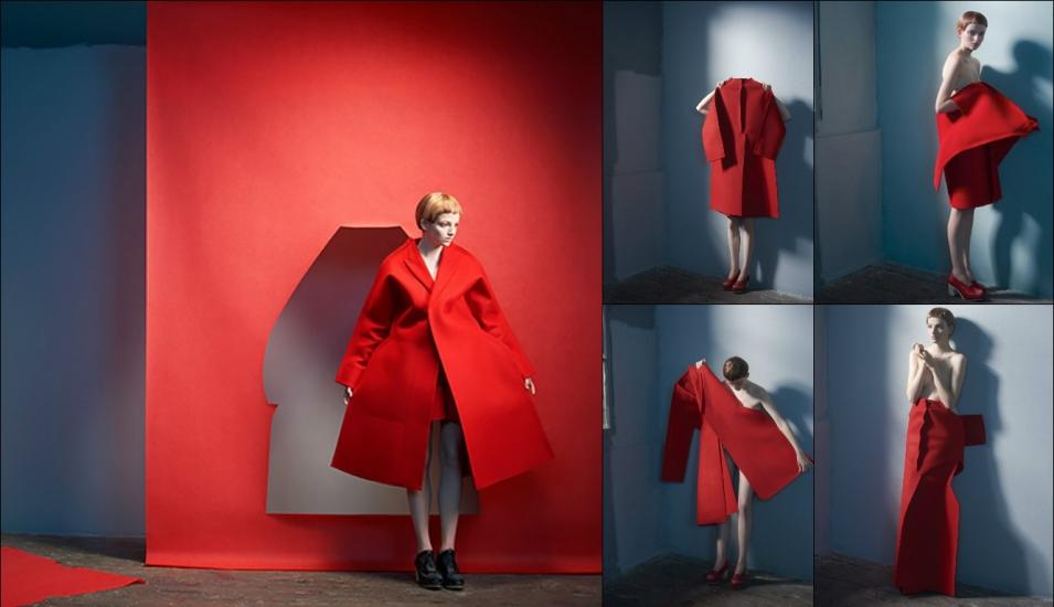 силуэт в моде Comme des Garçons Fall 2012